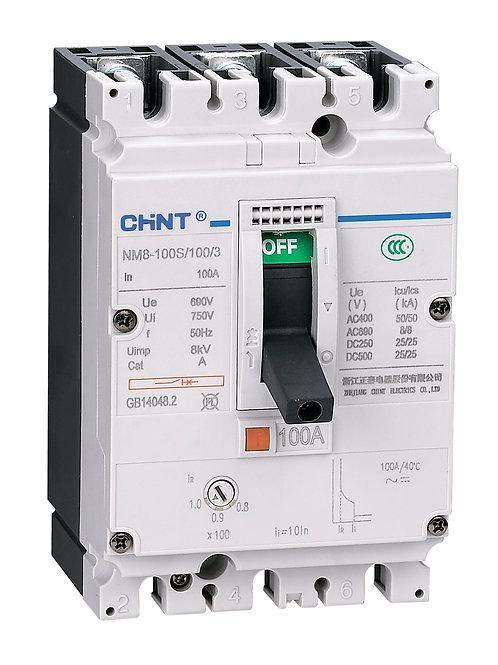 Авт. выкл. NM8S-250H 3P 40А 70кА с электронным расцепителем