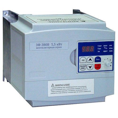 Преобразователь частоты E3-8100В-003H, 2.2 кВт, 380В, 3 фазы, без фильтра