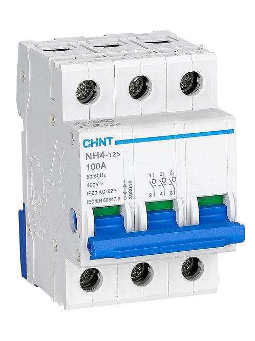 Выключатель нагрузки NH4 3P 63A (CHINT)