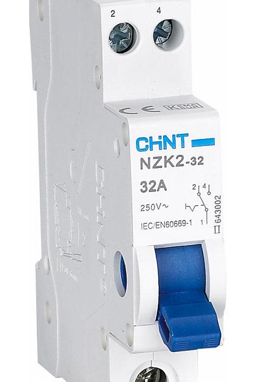 Модульный переключатель NZK2-32 2П 32А 2 положения