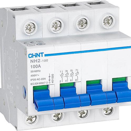 Выключатель нагрузки NH2-125 4P 100A (CHINT)
