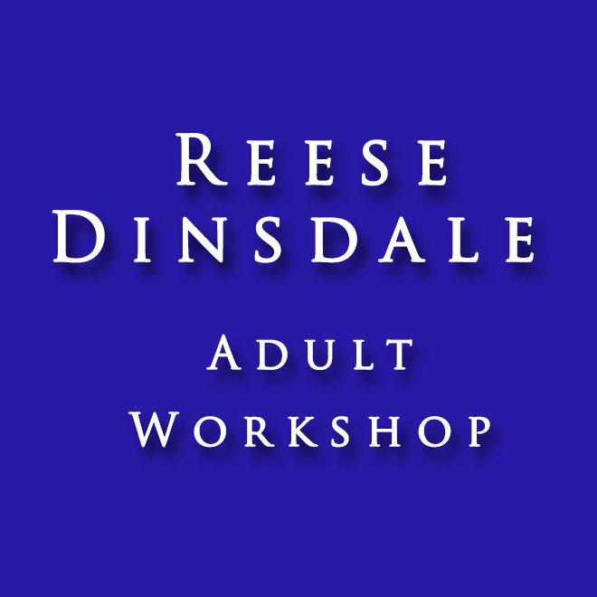 Reece Dinsdale Adult Workshop