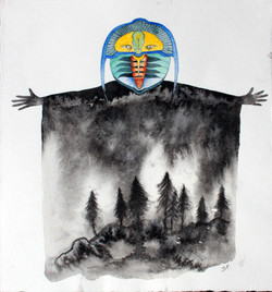 Dios trilobite del bosque