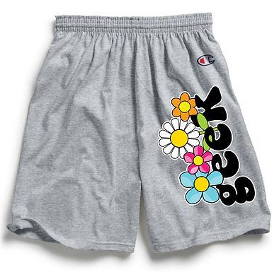 Floral Geek x Champion Shorts