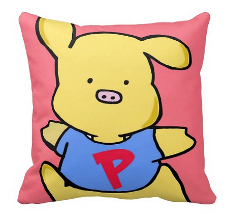 Toon Throw Pillow
