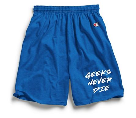 Geeks Never Dies x Champion Shorts