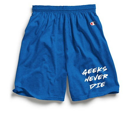 Geeks Never Dies x Champion Shorts
