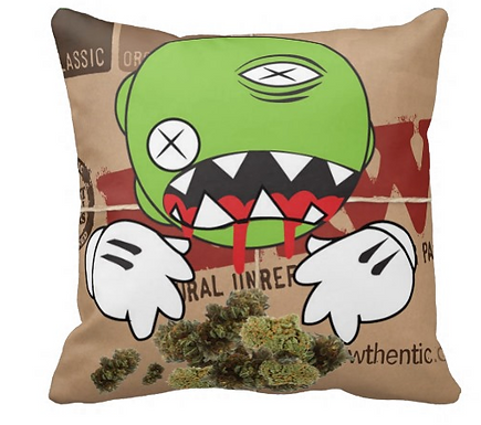 Kush Throw Pillow