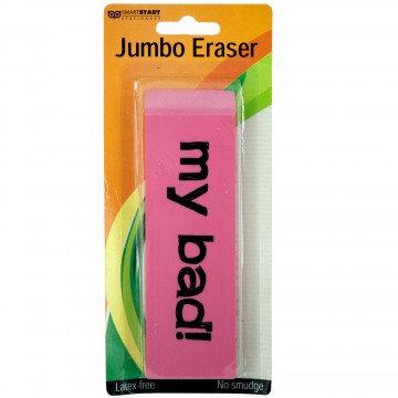My Bad! Jumbo Eraser