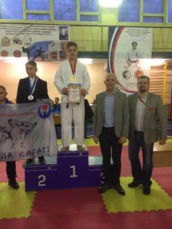Николай Загайнов 1 место