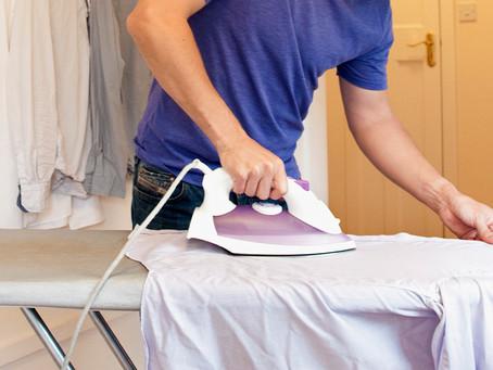 Como planchar una camisa sin dañarla