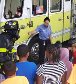 Fire Safety Workshop during Summer Learning