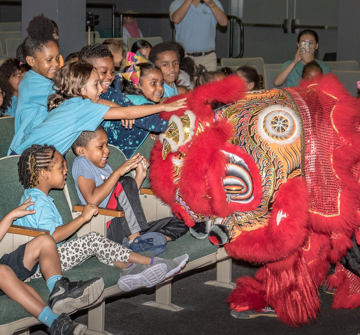 Cross Cultural Experience Day - Lion Dance