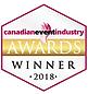 Canadian Event Industry Awards Winner 2018