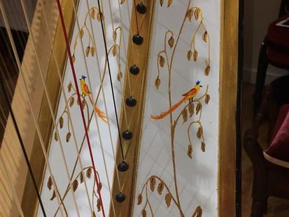 Erard Grecian Decorated Sound Board.