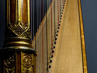 Erard Gothic soundboard.