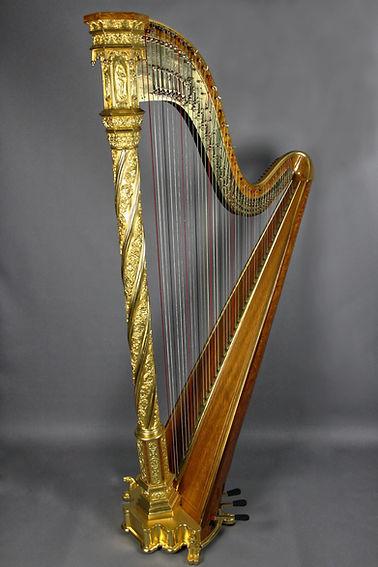 Erard Spiral Gothic fully restored harp