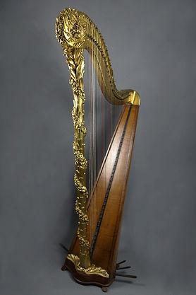 Cousineau harp restoration