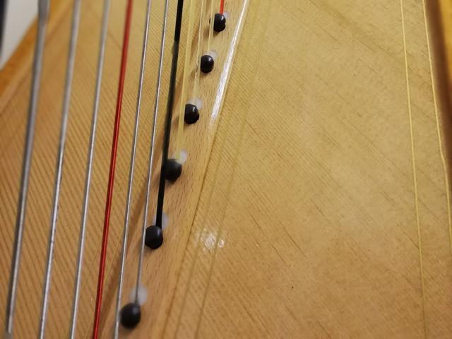 Grecian soundboard