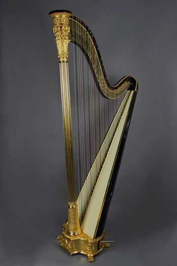 Fully restored Erard Grecian harp