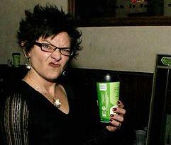 Karen Nemes La Grotesquerie punk show and coffee