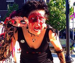 Karen Nemes La Grotesquerie South Bend Zombie Walk