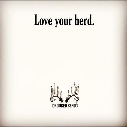 Love your herd.