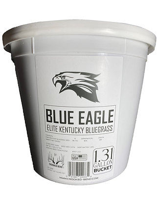 Blue Eagle (1.31 Gallon Bucket) - ELITE KENTUCKY BLUEGRASS SEED