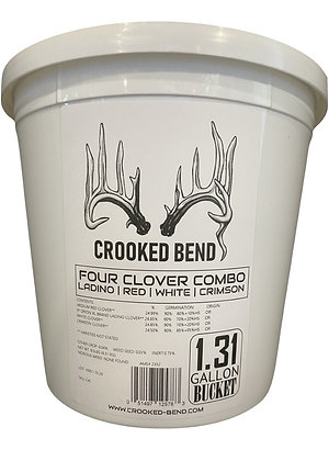Four Clover Combo (1.31 Gallon Bucket) - PERENNIAL FOOD PLOT SEED MIX