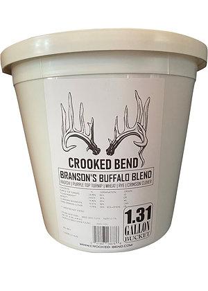 Branson Buffalo Blend (1.31 Gallon Bucket) - FOOD PLOT SEED MIX