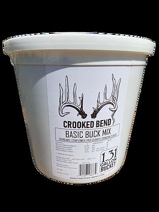 Basic Buck (7lb Bucket) - FOOD PLOT SEED MIX