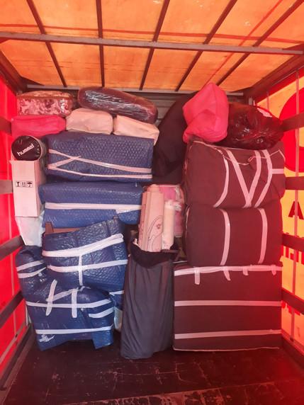 Paketleme-Eşyaların araca yüklenmesi
