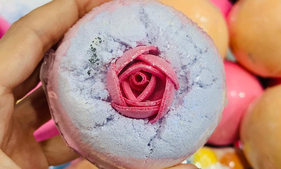 Bomba de baño Rose