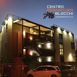 Centro resinatura Blocchi - Depliant