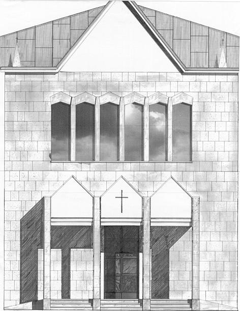 Facciata Chiesa SS Ippolito e Cassiano