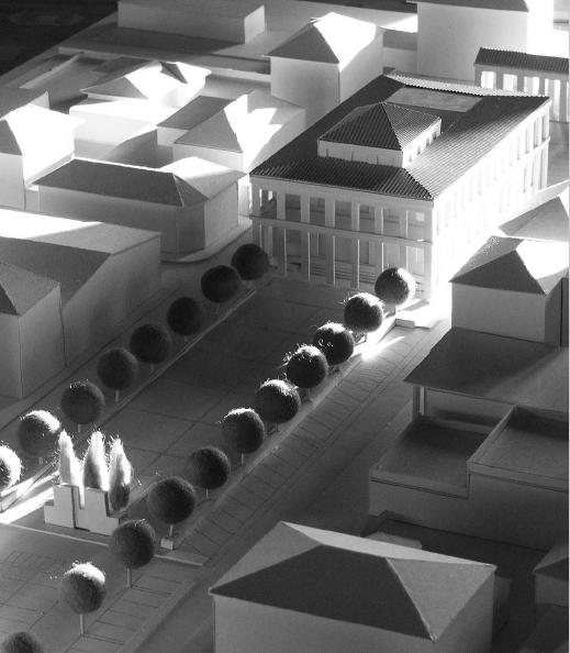 Modello piazza Querceta