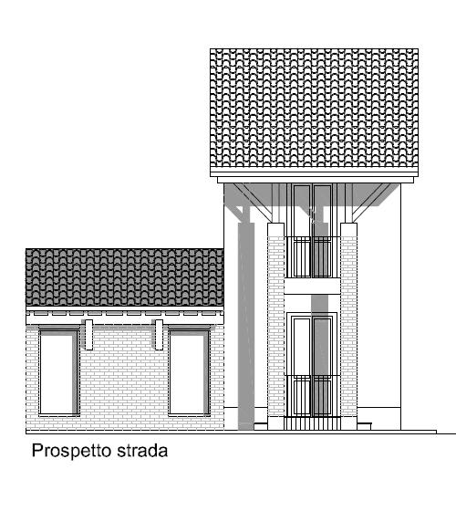 Prospetto casa Latta