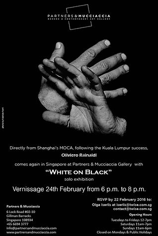 Locandina White on Black
