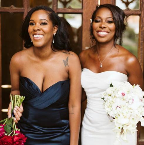 BRIDESMAID + BRIDE