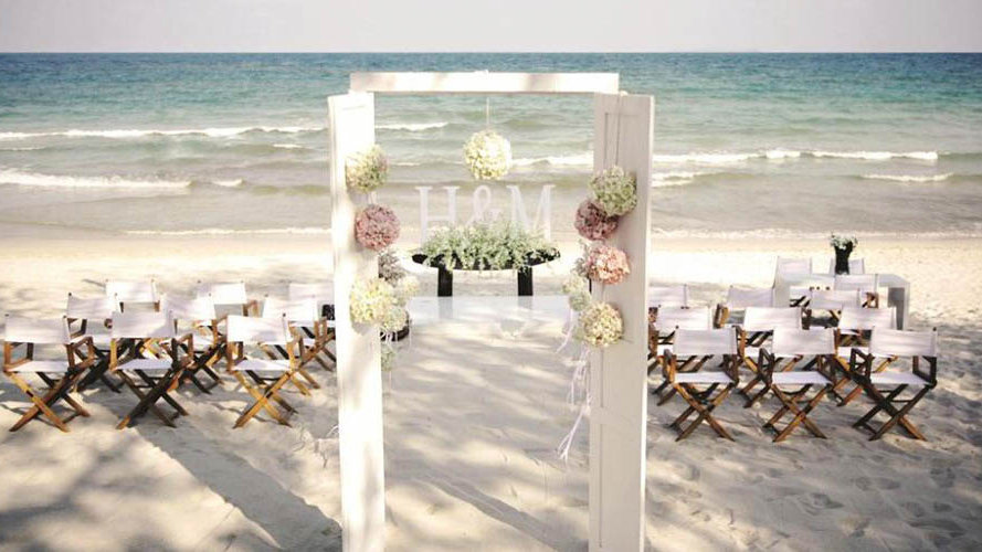 The Library Beach Wedding