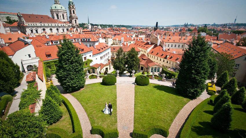 Prague Palace Garden