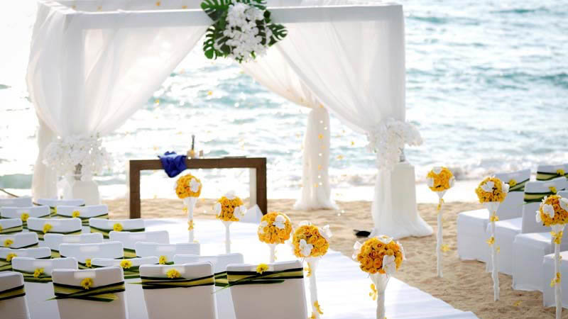 Renaissance Beach Wedding