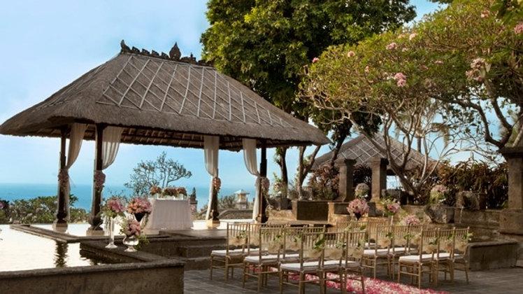 Ayana Secret Garden Wedding
