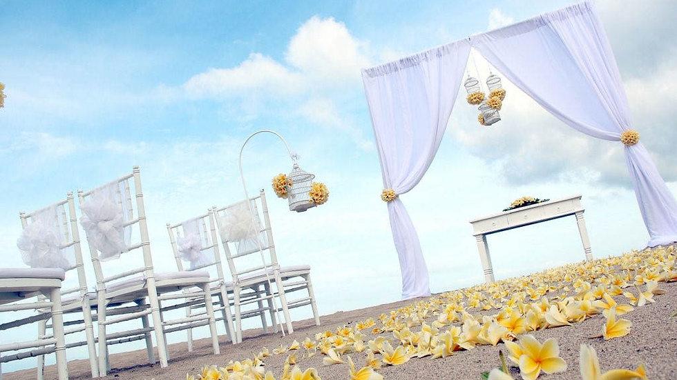 Conrad Beach Wedding
