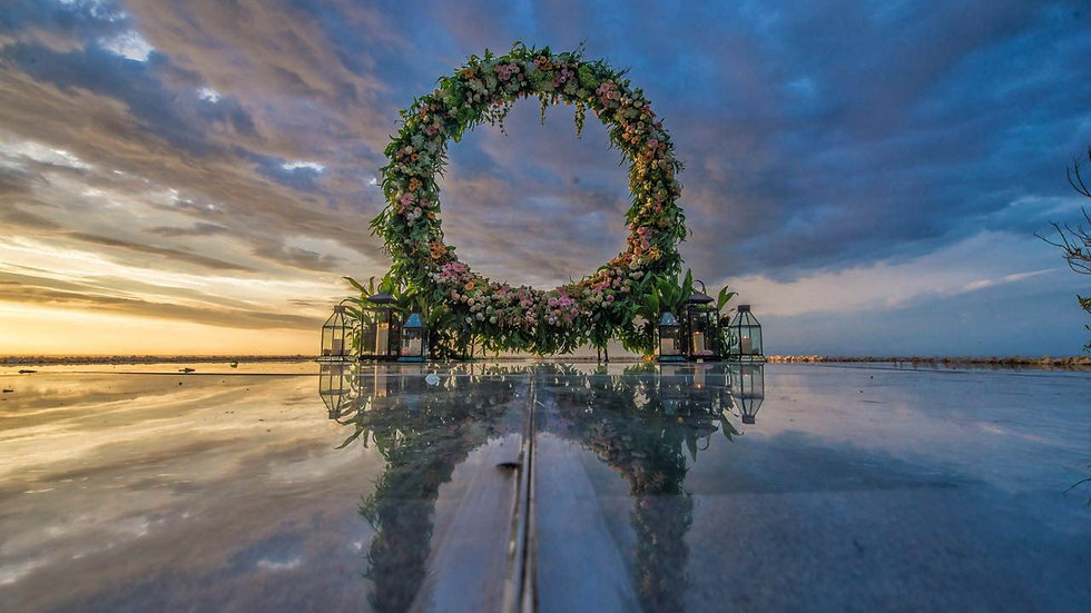 Kamaya Cliff Front Water Wedding