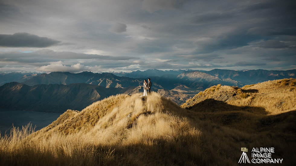 Wanaka Heli-wedding