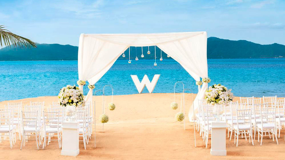 W Retreat Beach Wedding