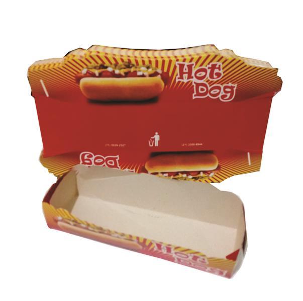 Caixinha para hot dog