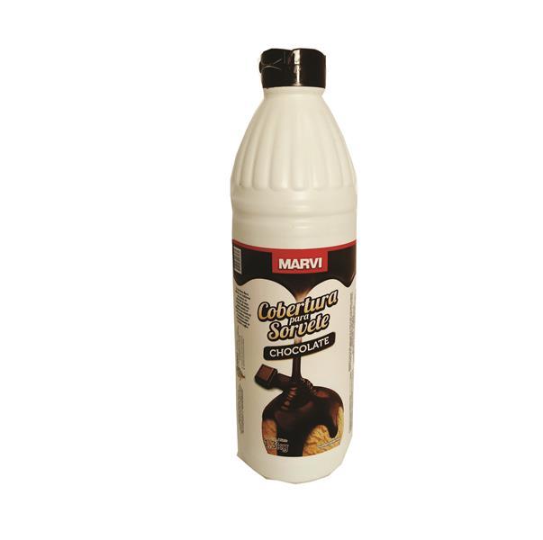 Cobertuira para sorvete - Chocolate - Ma