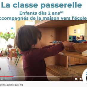 Une classe passerelle dès 2ans1/2 - vidéo de présentation